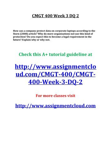 cmgt 582 week 2 Cmgt 430 week 2 individual applying risk management consulting note: this is the first of three assignments that will be completed for this three-assignment project.
