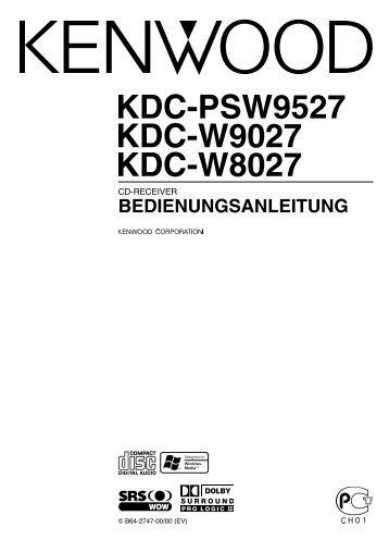 Kenwood KDC-PSW9527 - Car Electronics German (2003/11/28)