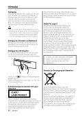 Kenwood KDC-PSW9527 - Car Electronics German (2003/11/28) - Page 6