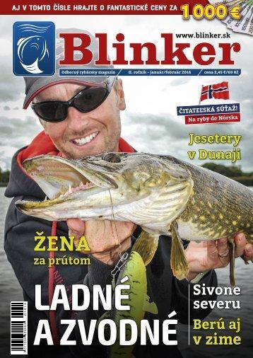 Magazín Blinker 1-2/2016