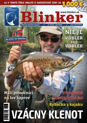 Magazín Blinker 4/2016