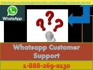 1-888-269-0130 Whatsapp Customer Toll Free Number