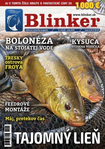 Magazín Blinker 5/2016