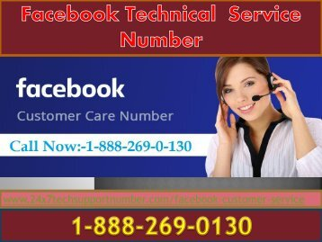 1-888-269-0130 Facebook tech support phone number
