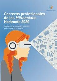 Carreras profesionales de los Millennials Horizonte 2020