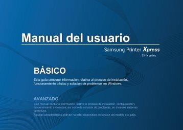 Samsung Printer Xpress C410W - SL-C410W/XAA - User Manual ver. 1.0 (SPANISH,25.05 MB)