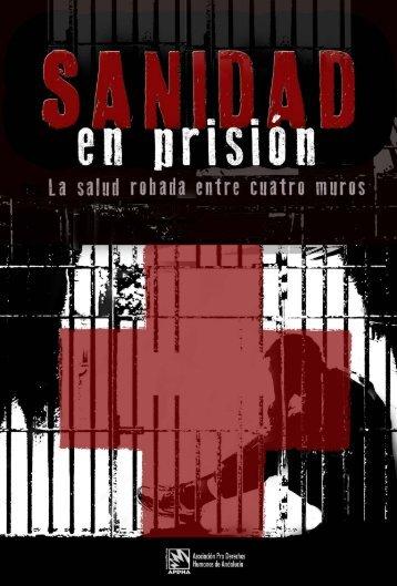 Sanidad en prisión