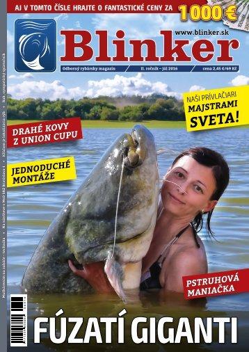 Magazín Blinker 7/2016