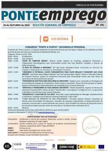oferta_trabajo_empleo_formacion_curso_pontevedra_PONTEemprego_Alerta_196_26-10-2016