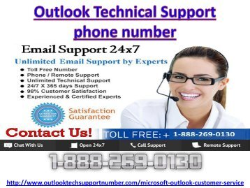 Microsoft outlook customer 1-888-269-0130 service phone number