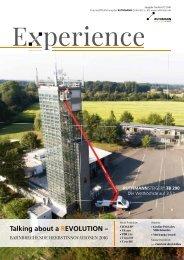 Experience Ausgabe Herbst 2016