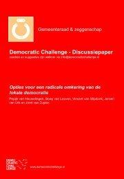 Democratic Challenge - Discussiepaper