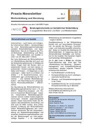 Praxis-Newsletter - Kuratorium der Deutschen Wirtschaft für ...