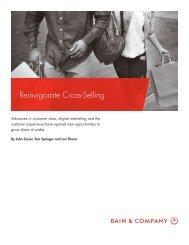 Reinvigorate Cross-Selling