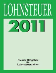 Lohnsteuer 2011