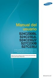 Samsung S24C230BL - LS24C230BL/ZA - User Manual ver. 1.0 (SPANISH,3.44 MB)