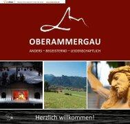 Mein Oberammergau Neubürgerbroschüre