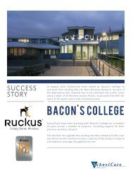 Success Story Brochure - Bacons College rev1