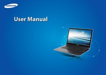 "Samsung ATIV Book 9 Lite (13.3"" HD Touch / AMD Quad-Core) - NP915S3G-K04US - User Manual (Windows8.1) (ENGLISH)"