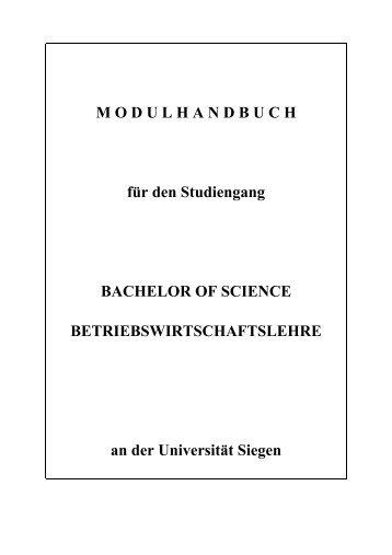 Erste Spezielle Betriebswirtschaftslehre - Wirtschaftswissenschaften ...
