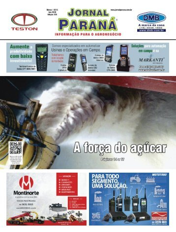 Jornal Paraná Março 2015