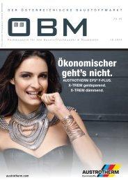 201610 ÖBM Der Österreichische Fachmarkt - Ökonomischer geht's nicht