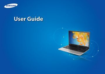 "Samsung Series 3 17. 3"" Notebook - NP305E7A-A03US - User Manual (Windows 8) (ENGLISH)"