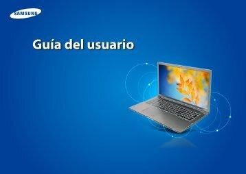"Samsung Series 7 15.6"" Notebook - NP700Z5B-W01UB - User Manual (Windows 8) ver. 1.2 (SPANISH,26.05 MB)"