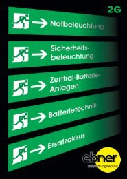 Katalog NOTLICHT PDF-Download 2 MB - EBNER ...