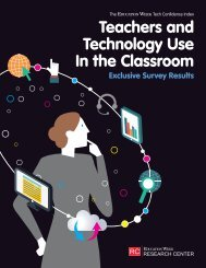 Teachers and Technology Use In the Classroom