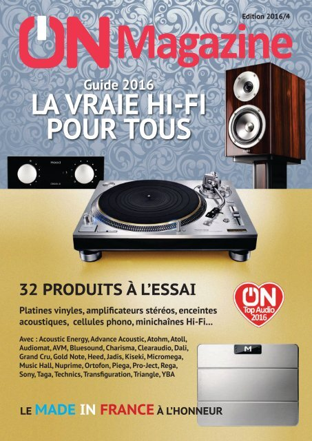 On Magazine Guide Hifi 2016