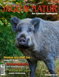Jagd & Natur Ausgabe November 2016 | Vorschau