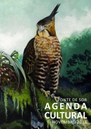 Agenda Cultural Novembro 2016