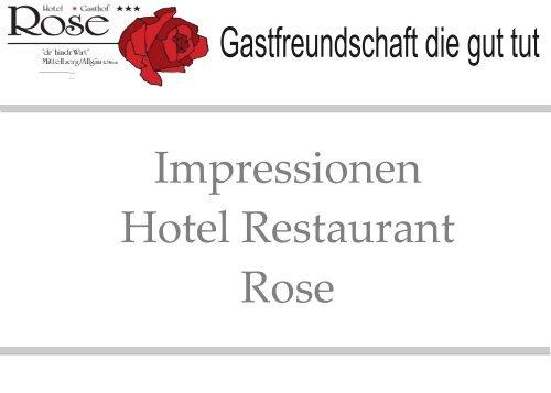 Hotel Restaurant Rose, Impressionen, Oy-Mittelberg, Allgäu, Bayern