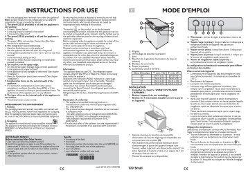 KitchenAid HF1133 AP - Freezer - HF1133 AP - Freezer EN (850734201050) Istruzioni per l'Uso