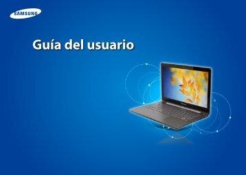 "Samsung ATIV Book 5 (14.0"" HD Touch / Core™ i3) - NP540U4E-K04US - User Manual (Windows 8) ver. 1.3 (SPANISH,19.55 MB)"
