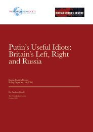 Putin's Useful Idiots Britain's Left Right and Russia