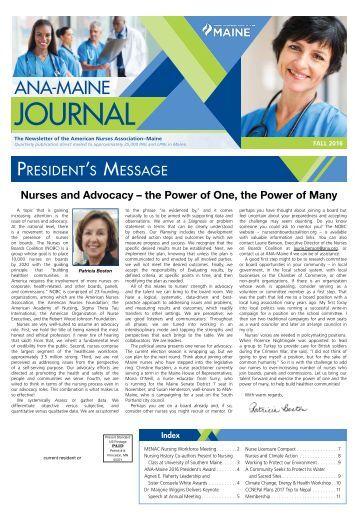 Iowa Board of Nursing Newsletter - May 2016