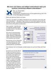 Wie kann man kleine und mittlere Unternehmen ... - Systemkonzept