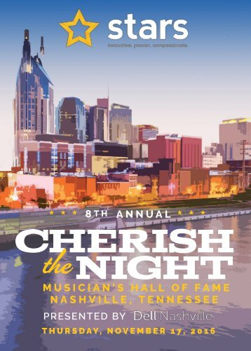 CHERISH THE NIGHT 2016