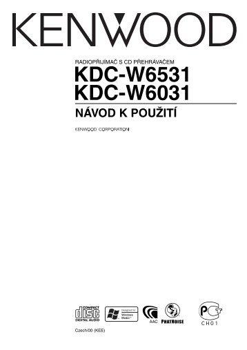 Kenwood KDC-W6031 - Car Electronics Czech (2004/12/7)