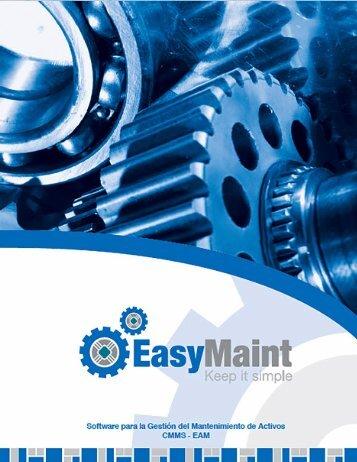 EasyMaint Software de Mantenimiento Industrial