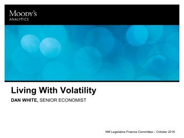 Living With Volatility