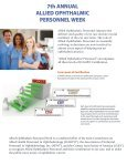 Allied Ophthalmic Personnel Week - Page 2
