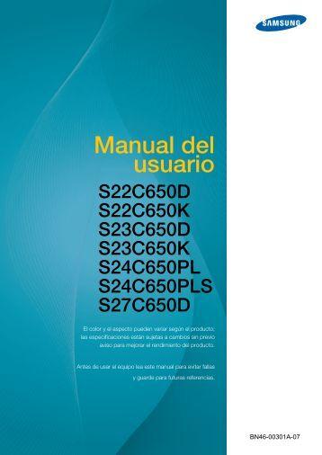 samsung user manual 6 series