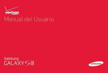 Samsung Galaxy S III 16GB (Verizon) - SCH-I535ZKBVZW - User Manual ver. LF2_F5 (SPANISH(North America),7.87 MB)