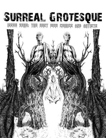 Surreal Grotesque #0 The Comic Book Issue