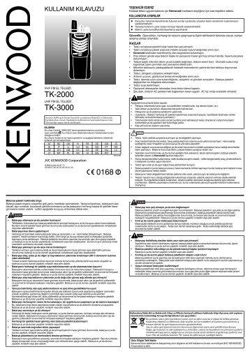 Kenwood TK-2000 - Communications Turkey ()
