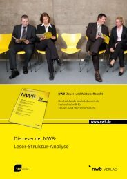 Download Leser-Struktur-Analyse 2009 - NWB Verlag