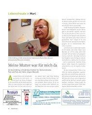 Im Alter - bei Krankheit - nach einem Unfall... www.wzhw.de